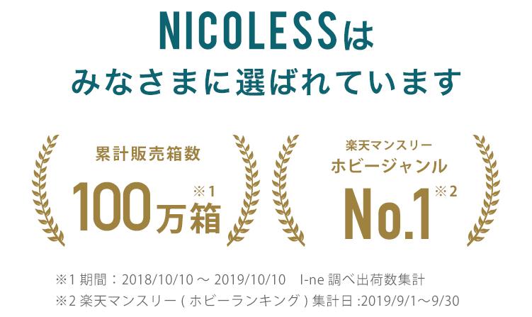 ニコレス 人気